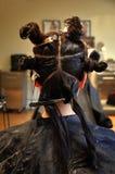 προσδιορισμός τριχώματο&sig Στοκ φωτογραφία με δικαίωμα ελεύθερης χρήσης