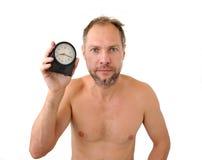 Προσεγγισμένο πρώην άτομο που απομονώνεται στην άσπρη ανασκόπηση στοκ φωτογραφία με δικαίωμα ελεύθερης χρήσης