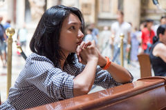 προσευμένος γυναίκα εκ& Στοκ Φωτογραφίες