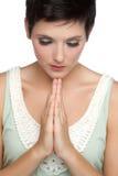 προσευμένος γυναίκα Στοκ Εικόνες