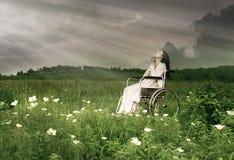 προσευμένος γυναίκα