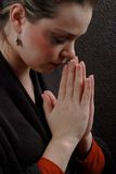 προσευμένος γυναίκα Στοκ εικόνες με δικαίωμα ελεύθερης χρήσης