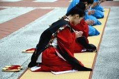 προσευμένος χαιρετίζον&t Στοκ φωτογραφίες με δικαίωμα ελεύθερης χρήσης