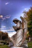 Προσευχή αγγέλων Στοκ φωτογραφίες με δικαίωμα ελεύθερης χρήσης
