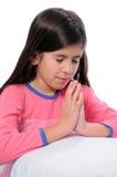 προσευχή καληνύχτας Στοκ Φωτογραφία