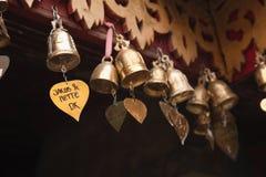 προσευχή κουδουνιών μι&kap στοκ φωτογραφία