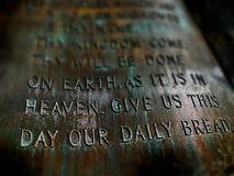 προσευχή Λόρδων Στοκ Φωτογραφίες