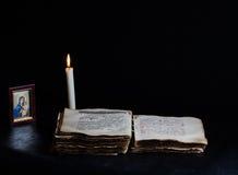 Προσευχή νύχτας Στοκ φωτογραφία με δικαίωμα ελεύθερης χρήσης