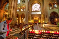 Προσευχή της Notre Dame Στοκ Εικόνες