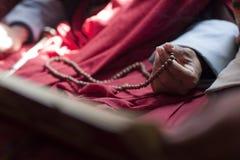 προσευχή χαντρών Στοκ Φωτογραφία