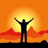 προσευχή διανυσματική απεικόνιση