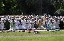 Προσευχή Eid Στοκ Εικόνα