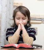 προσεύχεται Στοκ εικόνα με δικαίωμα ελεύθερης χρήσης