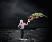 Προσθέστε κάποιο χρώμα στη ζωή σας Στοκ Εικόνες