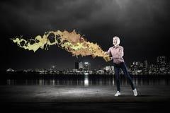 Προσθέστε κάποιο χρώμα στη ζωή σας Στοκ φωτογραφία με δικαίωμα ελεύθερης χρήσης
