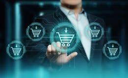 Προσθέστε στο κατάστημα Ιστού Διαδικτύου κάρρων αγοράζει τη σε απευθείας σύνδεση έννοια ηλεκτρονικού εμπορίου στοκ φωτογραφίες με δικαίωμα ελεύθερης χρήσης