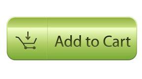 προσθέστε το κάρρο κουμπιών Στοκ φωτογραφία με δικαίωμα ελεύθερης χρήσης