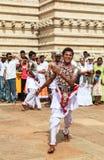 Προσκυνητές σε Anuradhapura, Σρι Λάνκα Στοκ φωτογραφία με δικαίωμα ελεύθερης χρήσης