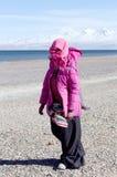 προσκυνητής Θιβετιανός Στοκ φωτογραφία με δικαίωμα ελεύθερης χρήσης