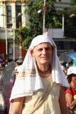 Προσκυνητής στην Ινδία. Στοκ Φωτογραφίες
