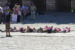 Προσκυνητής στη Γαλικία (Ισπανία) Στοκ φωτογραφία με δικαίωμα ελεύθερης χρήσης