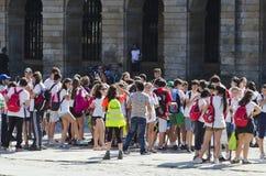 Προσκυνητής στη Γαλικία (Ισπανία) Στοκ φωτογραφίες με δικαίωμα ελεύθερης χρήσης