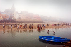 προσκυνητής της Ινδίας Στοκ Εικόνα