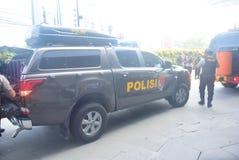 Προσομοίωση της ασφάλειας βομβών στην κορώνα Σεμαράνγκ ξενοδοχείων Στοκ Εικόνες