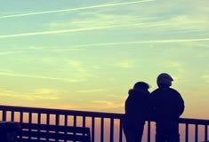 προσοχή ηλιοβασιλέματος Στοκ Φωτογραφία