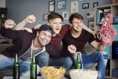 προσοχή ποδοσφαιρικών παιχνιδιών Στοκ εικόνες με δικαίωμα ελεύθερης χρήσης