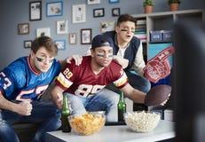 προσοχή ποδοσφαιρικών παιχνιδιών Στοκ φωτογραφία με δικαίωμα ελεύθερης χρήσης