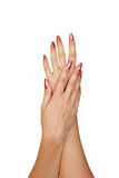 Προσοχή των χεριών στοκ εικόνα με δικαίωμα ελεύθερης χρήσης