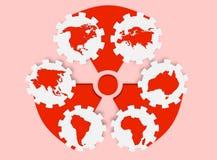 Προσοχή Biohazard Στοκ Εικόνες