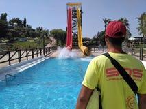 Προσοχή Lifeguard Στοκ εικόνες με δικαίωμα ελεύθερης χρήσης