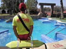 Προσοχή Lifeguard Στοκ Εικόνες
