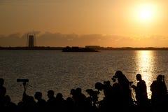 Προσπάθεια sts-134 σαϊτών της NASA Στοκ εικόνα με δικαίωμα ελεύθερης χρήσης