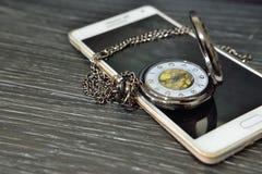 Προσπαθήστε να χρησιμοποιήσετε το χρόνο σας λογικά Στοκ Φωτογραφίες