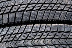 Προστάτης μιας ρόδας χειμερινών αυτοκινήτων στοκ εικόνα