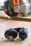 Προστασία αυτιών για το θόρυβο στοκ εικόνα με δικαίωμα ελεύθερης χρήσης