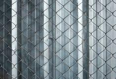 Προστασία πλέγματος καλωδίων στο εργαστήριο Στοκ εικόνα με δικαίωμα ελεύθερης χρήσης
