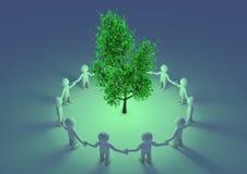 προστασία του δέντρου Στοκ εικόνα με δικαίωμα ελεύθερης χρήσης