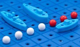 Προστασία των θαλάσσιων στρατιωτικών σκαφών παιχνιδιών συνόρων Στοκ εικόνα με δικαίωμα ελεύθερης χρήσης