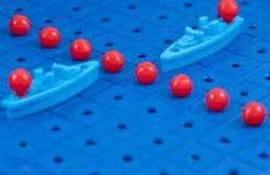 Προστασία των θαλάσσιων στρατιωτικών σκαφών παιχνιδιών συνόρων Στοκ Εικόνα