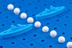 Προστασία των θαλάσσιων στρατιωτικών σκαφών παιχνιδιών συνόρων Στοκ Φωτογραφίες
