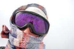 προστασία χιονοθύελλα&sig Στοκ Φωτογραφίες