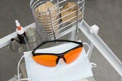 Προστατευτικά γυαλιά Στοκ φωτογραφία με δικαίωμα ελεύθερης χρήσης