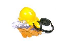 προστατευτική ασφάλεια εργαλείων εξοπλισμού Στοκ εικόνα με δικαίωμα ελεύθερης χρήσης