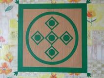Προστατευτική σημάδι-μασκότ της Yakut άνθρωπος-διακόσμησης στον τοίχο 2 Στοκ φωτογραφίες με δικαίωμα ελεύθερης χρήσης