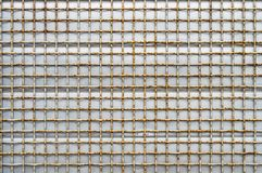 Προστατευτικό πλέγμα σιδήρου Στοκ Φωτογραφίες