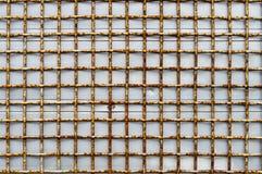 Προστατευτικό πλέγμα σιδήρου Στοκ φωτογραφία με δικαίωμα ελεύθερης χρήσης